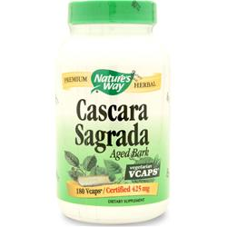 NATURE'S WAY Cascara Sagrada Aged Bark 180 vcaps
