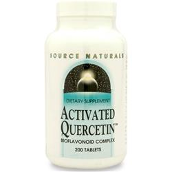 SOURCE NATURALS Activated Quercetin 200 tabs
