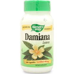 Nature's Way Damiana-Leaves 100 caps