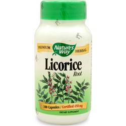 NATURE'S WAY Licorice Root 100 caps