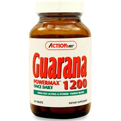 ACTION LABS Guarana Powermax 1200 60 tabs