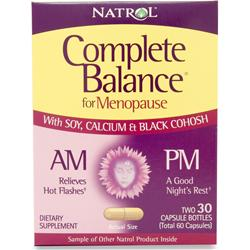 NATROL Complete Balance for Menopause AM/PM 60 caps