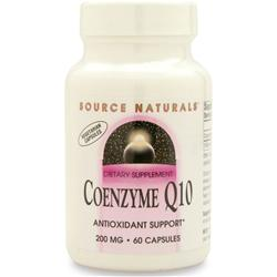 Source Naturals Coenzyme Q10 (200mg) 60 vcaps