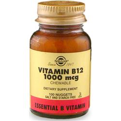 SOLGAR Vitamin B12 (1000mcg) 100 tabs
