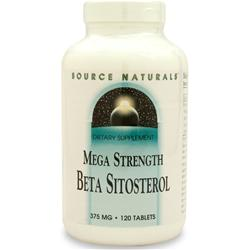 SOURCE NATURALS Mega Strength Beta Sitosterol 120 tabs