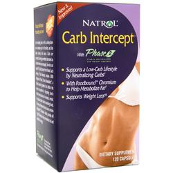 NATROL Carb Intercept with Phase 2 120 caps