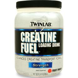 TWINLAB Creatine Fuel Loading Drink Fruit Punch 894 grams