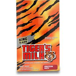 TIGER'S MILK King Size Tiger's Milk Bar Protein Rich 12 bars