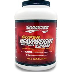 CHAMPION NUTRITION Super Heavyweight Gainer 1200 Double Fudge Chocolate 6.6 lbs