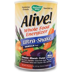 NATURE'S WAY Alive Multivitamin - Ultra-Shake Vanilla 2.2 lbs