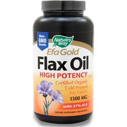 Is Nature S Way Efa Gold Flax Oil Organic Product