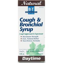 BOERICKE AND TAFEL Cough & Bronchial Syrup Daytime 8 fl.oz