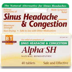 BOERICKE AND TAFEL Alpha SH - Sinus Headache & Congestion 40 tabs