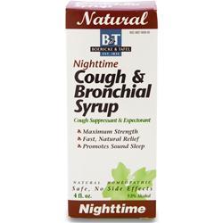 Boericke And Tafel Cough & Bronchial Syrup Nighttime 4 fl.oz