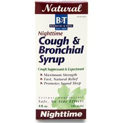 BOERICKE AND TAFEL Cough & Bronchial Syrup Nighttime 8 fl.oz