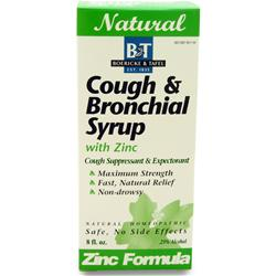 Boericke And Tafel Cough & Bronchial Syrup w/ Zinc 8 fl.oz