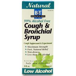 Boericke And Tafel Cough & Bronchial Syrup (99% Alcohol Free)  EXPIRES 10/15 8 fl.oz