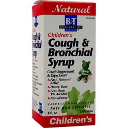 BOERICKE AND TAFEL Children's Cough and Bronchial Syrup 8 fl.oz