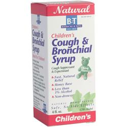 Boericke And Tafel Children's Cough and Bronchial Syrup 4 fl.oz