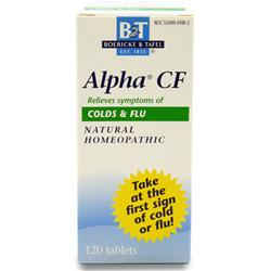 BOERICKE AND TAFEL Alpha CF (Colds & Flu) 120 tabs