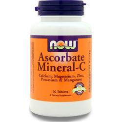 Now Ascorbate Mineral-C 90 tabs
