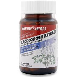 Nature's Herbs Black Cohosh Extract 60 caps
