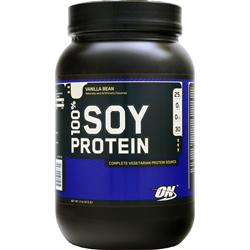 OPTIMUM NUTRITION 100% Soy Protein Vanilla Bean 2 lbs
