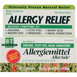 Boericke And Tafel Allergiemittel 40 tabs
