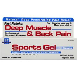 Boericke And Tafel Sports Gel 2.5 oz