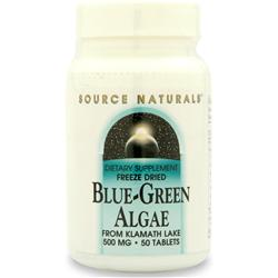 SOURCE NATURALS Blue-Green Algae (Freeze Dried) 50 tabs