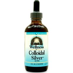 SOURCE NATURALS Wellness Colloidal Silver 4 fl.oz
