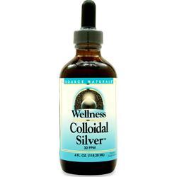 Source Naturals Wellness Colloidal Silver 4 fl.oz