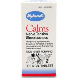HYLANDS HOMEOPATHIC Calms 100 tabs