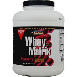 ISS Research Whey Matrix Strawberry 5 lbs
