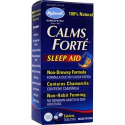 HYLANDS HOMEOPATHIC Calms Forte Sleep Aid 100 tabs