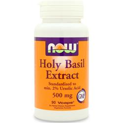 NOW Holy Basil Extract (500mg) 90 vcaps