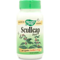 Nature's Way Scullcap Herb 100 caps