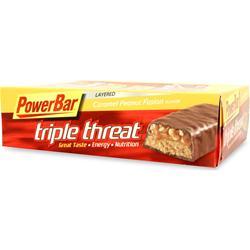 POWERBAR Triple Threat Bar Caramel Peanut Fusion 15 bars
