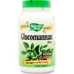 NATURE'S WAY Glucomannan 180 vcaps