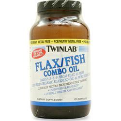 TwinLab Flax/Fish Combo Oil 120 sgels