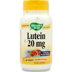 NATURE'S WAY Lutein (20mg) 60 sgels
