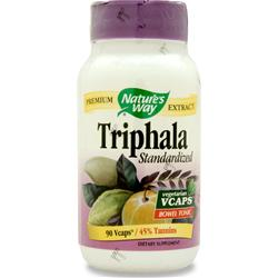 NATURE'S WAY Triphala - Standardized Extract 90 vcaps