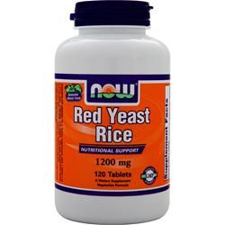 NOW Red Yeast Rice (1200mg) 120 tabs