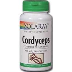 SOLARAY Cordyceps (520mg) 100 caps