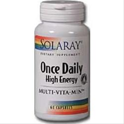 SOLARAY Once Daily High Energy Multi-Vita-Min 180 caps