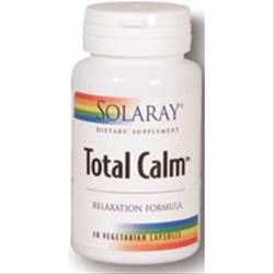SOLARAY Total Calm Relaxation Formulas 30 caps