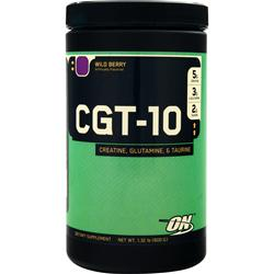 OPTIMUM NUTRITION CGT 10 - Creatine Glutamine Taurine Wild Berry 600 grams