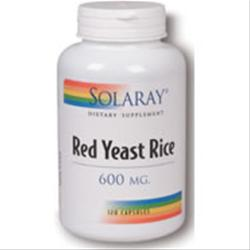 SOLARAY Red Yeast Rice (600 mg) 120 vcaps