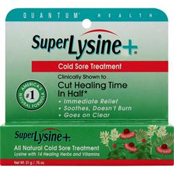 QUANTUM Super Lysine Plus Cold Sore Treatment Ointment 21 grams