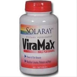 Solaray ViraMax Male Performance 60 caps